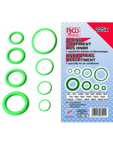 Assortimento O-ring speciali in HNBR...