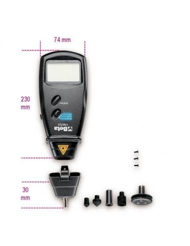 Tachimetro digitale a distanza e a...