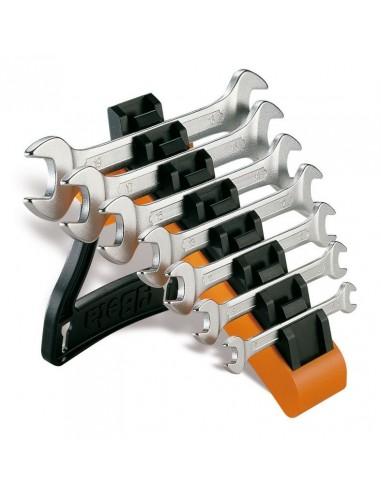 Serie di 7 chiavi a forchetta doppie...