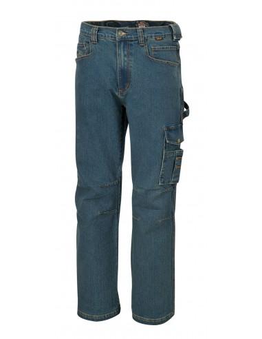Jeans da lavoro elasticizzati in...
