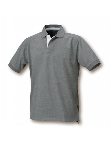 Maglietta Polo da lavoro, 3 bottoni,...