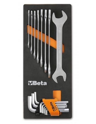 Serie 8 chiavi a forchetta + serie...