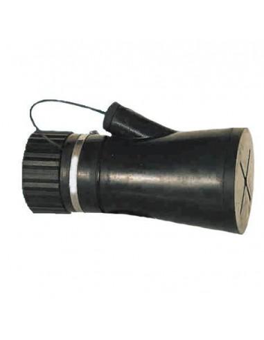 Bocchetta con filtro a carboni attivi