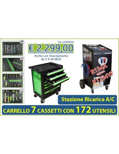 Stazione di Ricarica A/C + Carrello...