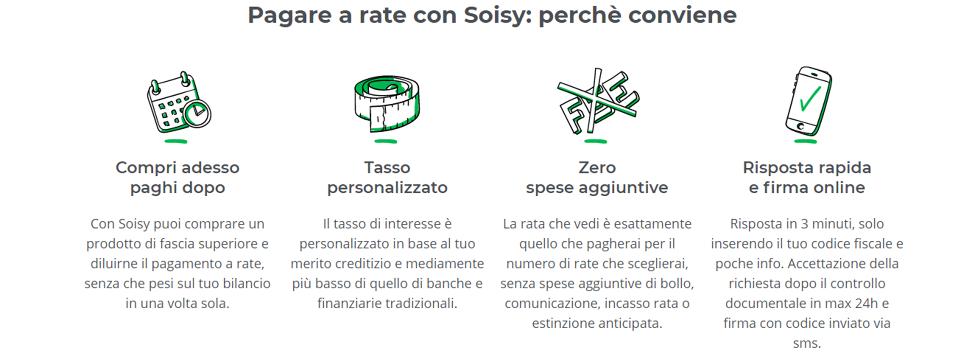 Pagare a rate con Soisy